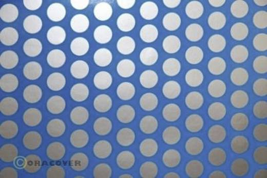 Bügelfolie Oracover Fun 1 41-051-091-002 (L x B) 2 m x 60 cm Blau-Silber (fluoreszierend)