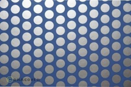 Bügelfolie Oracover Fun 1 41-053-091-002 (L x B) 2 m x 60 cm Hell-Blau-Silber