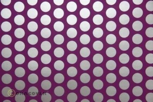 Bügelfolie Oracover Fun 1 41-054-091-002 (L x B) 2 m x 60 cm Violett-Silber