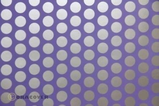 Bügelfolie Oracover Fun 1 41-055-091-002 (L x B) 2 m x 60 cm Lila-Silber