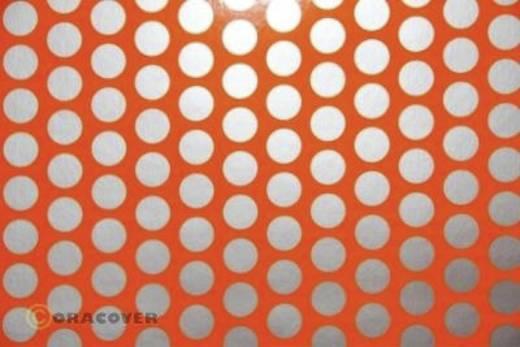 Bügelfolie Oracover Fun 1 41-064-091-002 (L x B) 2 m x 60 cm Rot-Orange-Silber (fluoreszierend)