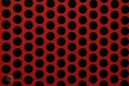 Bügelfolie Oracover Fun 1 41-022-071-002 (L x B) 2 m x 60 cm Hell-Rot-Schwarz