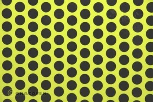 Bügelfolie Oracover Fun 1 41-031-071-002 (L x B) 2 m x 60 cm Gelb-Schwarz (fluoreszierend)