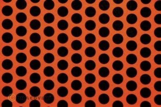 Bügelfolie Oracover Fun 1 41-064-071-002 (L x B) 2 m x 60 cm Rot-Orange-Schwarz (fluoreszierend)