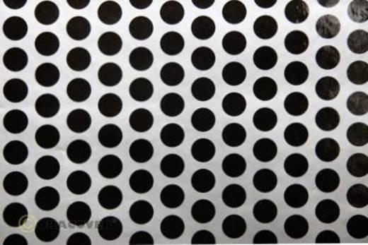 Bügelfolie Oracover Fun 1 41-091-071-002 (L x B) 2 m x 60 cm Silber-Schwarz