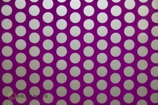 Bügelfolie Oracover Fun 1 41-015-091-010 (L x B) 10 m x 60 cm Violett-Silber (fluoreszierend)