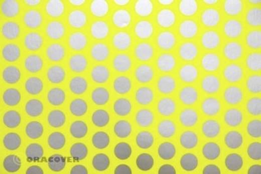 Bügelfolie Oracover Fun 1 41-031-091-010 (L x B) 10 m x 60 cm Gelb-Silber (fluoreszierend)