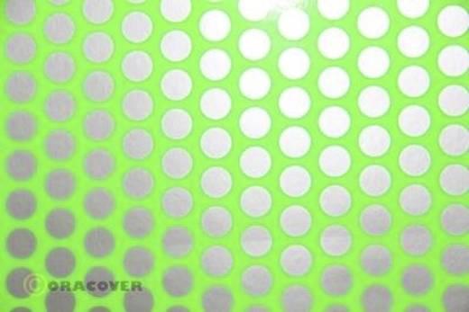 Bügelfolie Oracover Fun 1 41-041-091-010 (L x B) 10 m x 60 cm Grün-Silber (fluoreszierend)