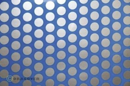 Bügelfolie Oracover Fun 1 41-051-091-010 (L x B) 10 m x 60 cm Blau-Silber (fluoreszierend)