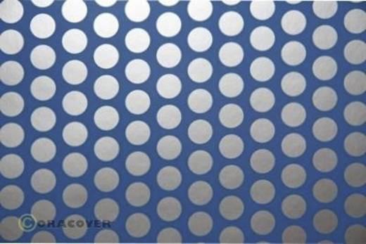 Bügelfolie Oracover Fun 1 41-053-091-010 (L x B) 10 m x 60 cm Hell-Blau-Silber