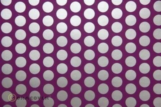 Bügelfolie Oracover Fun 1 41-054-091-010 (L x B) 10 m x 60 cm Violett-Silber