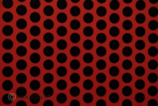 Bügelfolie Oracover Fun 1 41-022-071-010 (L x B) 10 m x 60 cm Hell-Rot-Schwarz