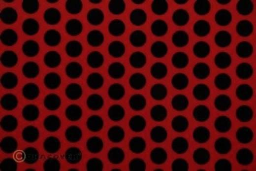 Bügelfolie Oracover Fun 1 41-023-071-010 (L x B) 10 m x 60 cm Ferrirot-Schwarz