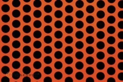 Bügelfolie Oracover Fun 1 41-064-071-010 (L x B) 10 m x 60 cm Rot-Orange-Schwarz (fluoreszierend)