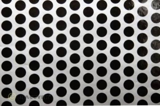 Bügelfolie Oracover Fun 1 41-091-071-010 (L x B) 10 m x 60 cm Silber-Schwarz