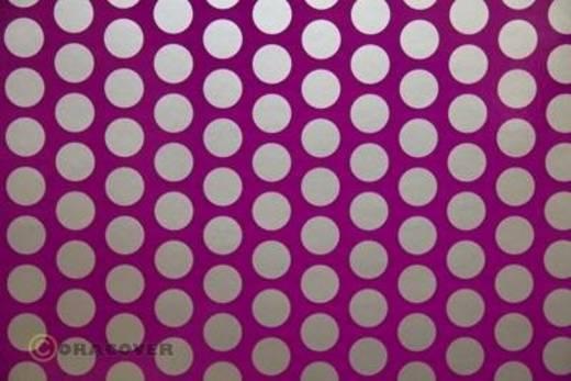 Klebefolie Oracover Orastick Fun 1 45-015-091-002 (L x B) 2 m x 60 cm Violett-Silber (fluoreszierend)