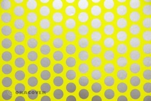 Klebefolie Oracover Orastick Fun 1 45-031-091-002 (L x B) 2 m x 60 cm Gelb-Silber (fluoreszierend)