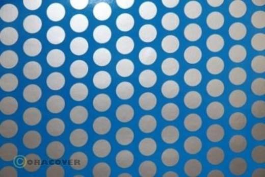 Klebefolie Oracover Orastick Fun 1 45-051-091-002 (L x B) 2 m x 60 cm Blau-Silber (fluoreszierend)