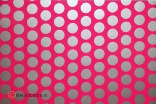 Klebefolie Oracover Orastick Fun 1 45-014-091-010 (L x B) 10 m x 60 cm Neon-Pink-Silber (fluoreszierend)
