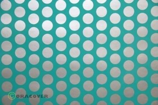 Klebefolie Oracover Orastick Fun 1 45-017-091-010 (L x B) 10 m x 60 cm Türkis-Silber