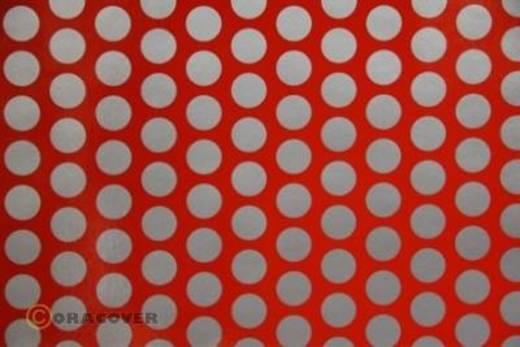 Klebefolie Oracover Orastick Fun 1 45-022-091-010 (L x B) 10 m x 60 cm Hell-Rot-Silber