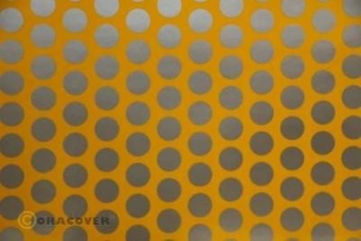Klebefolie Oracover Orastick Fun 1 45-030-091-010 (L x B) 10 m x 60 cm Cub-Gelb-Silber