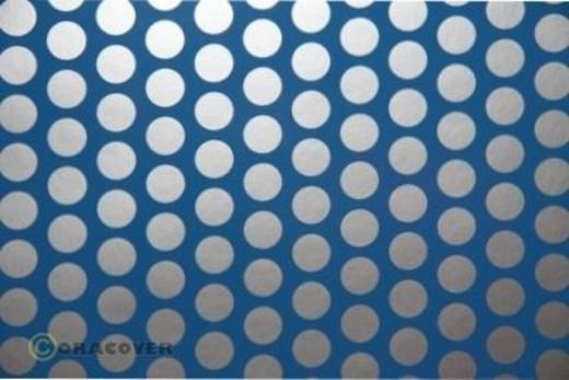 Klebefolie Oracover Orastick Fun 1 45-053-091-010 (L x B) 10 m x 60 cm Hell-Blau-Silber