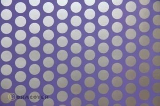 Klebefolie Oracover Orastick Fun 1 45-055-091-010 (L x B) 10 m x 60 cm Lila-Silber