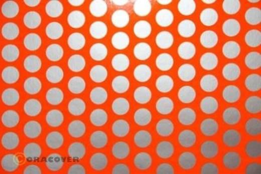 Klebefolie Oracover Orastick Fun 1 45-064-091-010 (L x B) 10 m x 60 cm Rot-Orange-Silber (fluoreszierend)