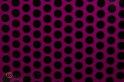 Klebefolie Oracover Orastick Fun 1 45-015-071-010 (L x B) 10 m x 60 cm Violett-Schwarz (fluoreszierend)