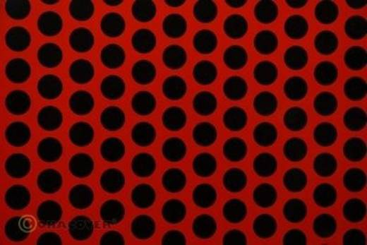Klebefolie Oracover Orastick Fun 1 45-022-071-010 (L x B) 10 m x 60 cm Hell-Rot-Schwarz