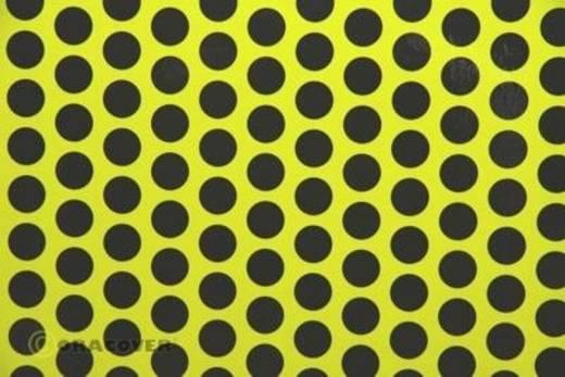 Klebefolie Oracover Orastick Fun 1 45-031-071-010 (L x B) 10 m x 60 cm Gelb-Schwarz (fluoreszierend)