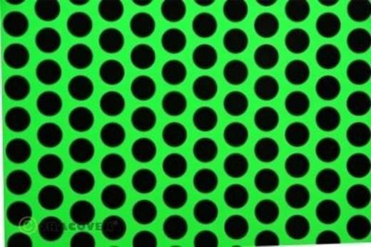 Klebefolie Oracover Orastick Fun 1 45-041-071-010 (L x B) 10 m x 60 cm Grün-Schwarz (fluoreszierend)
