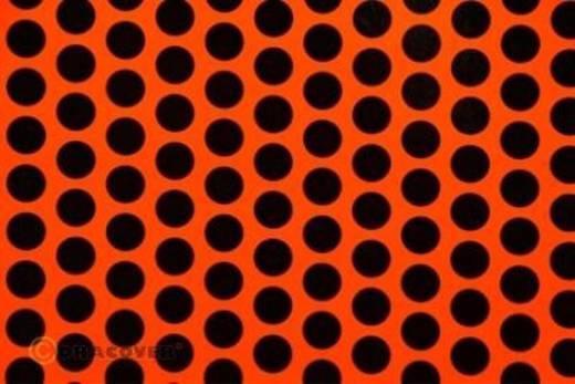 Klebefolie Oracover Orastick Fun 1 45-064-071-010 (L x B) 10 m x 60 cm Rot-Orange-Schwarz (fluoreszierend)