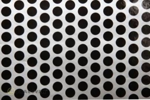 Klebefolie Oracover Orastick Fun 1 45-091-071-010 (L x B) 10 m x 60 cm Silber-Schwarz
