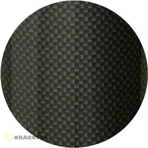 Bügelfolie Oracover 421-071-002 (L x B) 2000 mm x 600 mm Carbon