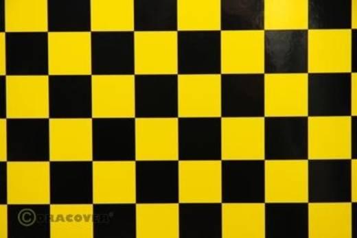 Klebefolie Oracover Orastick Fun 3 47-033-071-002 (L x B) 2000 mm x 600 mm Gelb-Schwarz