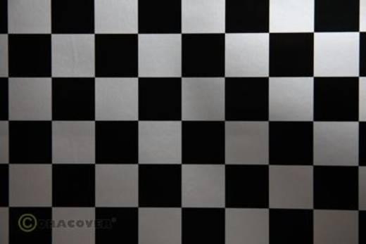 Bügelfolie Oracover Fun 43-091-071-002 (L x B) 2000 mm x 600 mm Silber-Schwarz