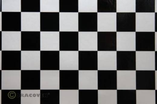 Bügelfolie Oracover Fun 43-016-071-010 (L x B) 10000 mm x 600 mm Perlmutt-Weiß-Schwarz