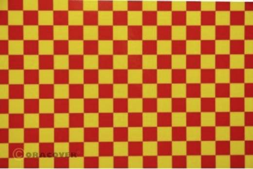 Bügelfolie Oracover Fun 4 44-033-023-002 (L x B) 2 m x 60 cm Gelb-Rot