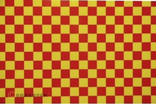 Bügelfolie Oracover Fun 4 44-033-023-010 (L x B) 10 m x 60 cm Gelb-Rot
