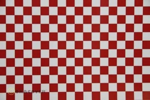 Bügelfolie Oracover Fun 4 44-010-023-002 (L x B) 2 m x 60 cm Weiß-Rot