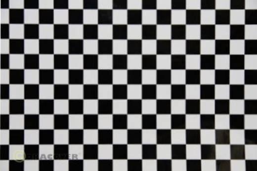 Bügelfolie Oracover Fun 4 44-010-071-002 (L x B) 2 m x 60 cm Weiß-Schwarz