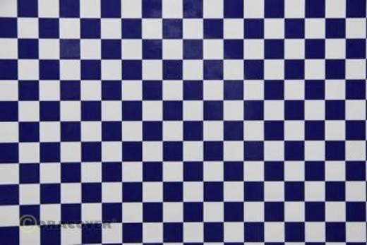 Bügelfolie Oracover Fun 4 44-010-052-002 (L x B) 2 m x 60 cm Weiß-Dunkelblau