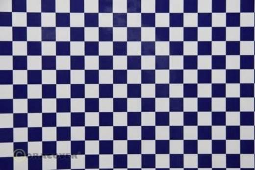 Bügelfolie Oracover Fun 4 44-010-052-010 (L x B) 10 m x 60 cm Weiß-Dunkelblau