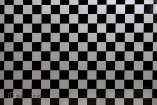Bügelfolie Oracover Fun 4 44-091-071-002 (L x B) 2 m x 60 cm Silber-Schwarz