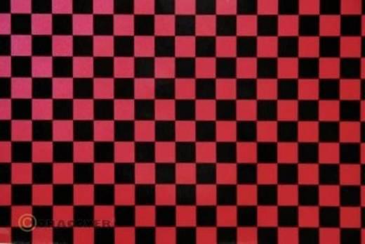 Bügelfolie Oracover Fun 4 44-027-071-002 (L x B) 2 m x 60 cm Perlmutt-Rot-Schwarz
