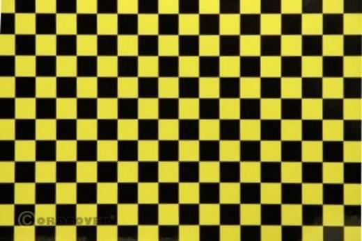 Bügelfolie Oracover Fun 4 44-036-071-010 (L x B) 10 m x 60 cm Perlmutt-Gelb-Schwarz