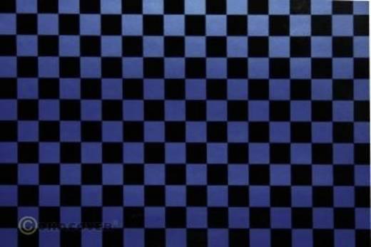Bügelfolie Oracover Fun 4 44-057-071-010 (L x B) 10 m x 60 cm Perlmutt-Blau-Schwarz