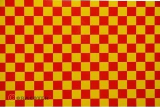 Klebefolie Oracover Orastick Fun 4 48-033-023-010 (L x B) 10 m x 60 cm Gelb-Rot
